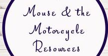 The Mouse and the Motorcycle Ideas and Activities / Study Ideas   Activities   Homeschooling   Educational   The Mouse and the Motorcycle    Printables   Learning   Unit Studies   Crafts   Book   Novel Study   Reading
