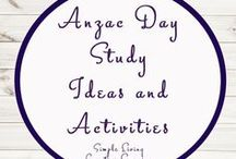 Anzac Day Study Ideas and Activities / Study Ideas | Activities | Homeschooling | Educational | Anzac Day  | Printables | Learning | Unit Studies | Crafts