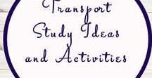 Transport Related Ideas and Activities / Study Ideas | Activities | Homeschooling | Educational | Train | Printables | Learning | Unit Studies | Crafts | Transport