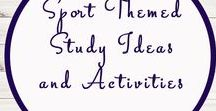Sport Themed Unit Studies and Activities / Study Ideas   Activities   Homeschooling   Educational   Soccer    Printables   Learning   Unit Studies   Crafts   World Cup   Sport