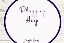 Blogging Help / Ideas | Blogging | Income | Educational | Work at Home  | Printables | Learning