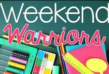 Weekend Warriors / We are a group of bloggers bringing you monthly educational tips and tricks.