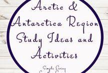 Arctic and Antarctica Region Study Ideas and Activities / Study Ideas   Activities   Homeschooling   Educational   Arctic    Printables   Learning   Unit Studies   Crafts   Antarctica