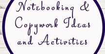 Notebooking and Copywork / Study Ideas | Activities | Homeschooling | Educational | Notebooking  | Printables | Learning | Unit Studies | Crafts | Copywork