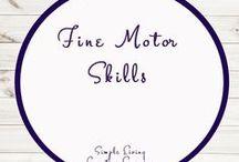 Fine Motor Skills for Kids / Ideas   Activities   Homeschooling   Educational   Fine Motor Skills    Printables   Learning   Unit Studies   Crafts