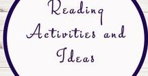 Reading Activities and Ideas / Study Ideas | Activities | Homeschooling | Educational | Reading | Printables | Learning | Unit Studies | Crafts | Literacy | Language Arts