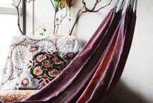 we love to hang / I just love hammocks indoor, outdoor :)