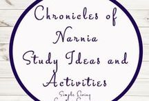 Chronicles of Narnia Study Ideas and Activities / Study Ideas | Activities | Homeschooling | Educational | Chronicles of Narnia | Printables | Learning | Unit Studies | Crafts | Novel Study