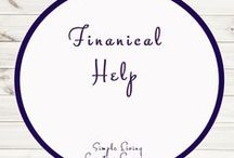 Financial Help and Ideas / Ideas | Activities | Financial | Financial Help | Money  | Printables | Learning | Saving | Budgeting | Strategies