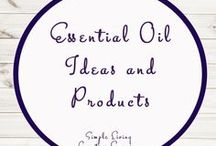 Essential Oils Ideas and Products / Ideas | Activities | Essential Oils | Educational | Products  | Printables | Learning | DIY | Uses