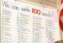 100th Day of School / 100th day of school ideas, crafts, and activities for primary classrooms.