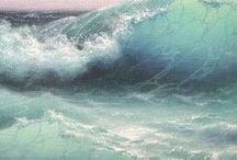 paint WATER SCENES