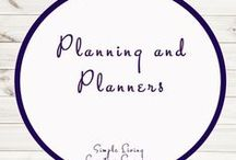 Planners and Planning / Organisation | Planning | Planners | Being Prepared