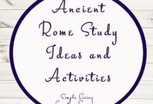 Ancient Rome Activities and Ideas / Study Ideas | Activities | Homeschooling | Educational | Ancient Rome  | Printables | Learning | Unit Studies | Crafts