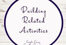 Building Related Activities and Ideas / Study Ideas | Activities | Homeschooling | Educational | Building  | Printables | Learning | Unit Studies | Crafts