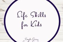 Life Skills for Kids / Study Ideas | Activities | Homeschooling | Educational | Life Skills  | Printables | Learning | Unit Studies | Crafts