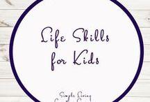 Life Skills for Kids / Study Ideas   Activities   Homeschooling   Educational   Life Skills    Printables   Learning   Unit Studies   Crafts