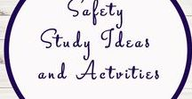 Safety Activities and Worksheets / Safety | Homeschool | Activities | Printables | Fire |