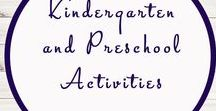 Kindergarten and Preschool Activities / Kindergarten | Preschool | Activities | Printables | Education |
