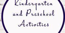 Kindergarten and Preschool Activities / Kindergarten   Preschool   Activities   Printables   Education  