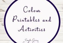 Colour Printables / Colour | Printables | Preschool |