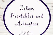 Colour Printables / Colour   Printables   Preschool  