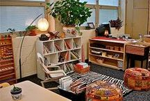 Beautiful Montessori Environments / Montessori environments are carefully and thoughtfully prepared depending on the ages and needs of the children.