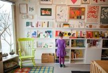 """Beautiful Rooms for Children / """"The child should live in an environment of beauty.""""  Maria Montessori"""