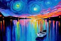Paintings... / by Mindy Dolack