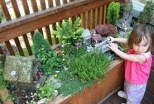 """Gardening with Children / """"Place the soul of the child in contact with creation, in order that he may lay up for himself treasure from the directly educating forces of living nature."""" Maria Montessori"""