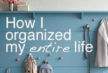 get organized now! / by Mindy Dolack