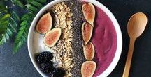 Smoothie Bowl Inspiration / Healthy and delicious smoothie bowl recipes!
