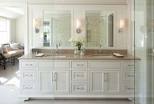 Bathroom Serenity / Inspirations and useful tips for achieving the perfect bathroom! / by Mindy Brabon