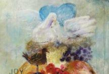 I l l u s t r a d a P a i n t i n g s.  Marieke Priem schilderijen en illustraties / Bij Illustrada kunt u terecht voor eigentijdse illustraties en schilderijen: met een tikkeltje pret, een snufje tragedie en een korreltje fantasie