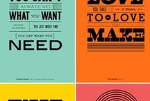 Graphic Design Inspiration / Colors, fonts, layout, amazing graphics, design inspiration