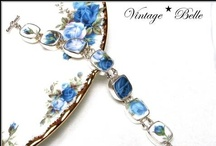 Broken China Jewelry Bracelets / by Vintage Belle Broken China Jewelry
