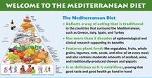 Mediterranean Diet Information / A board filled with Mediterranean resources and inspiration! Blogs, tips, educational information, and more.