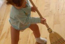 Montessori in the Home / Create a more self sufficient child by preparing your home environment the Montessori way.