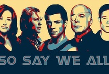 So say we all / Battlestar Galactica....ALL THE FEELS!  / by Saint Mercy