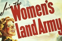 Women in WWII / Uniforms, posters/propaganda, etc. related to the role of women in WWII - focussing mainly on the UK & Australia.