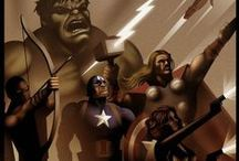 Avengers Assemble / All things Avengers  / by Saint Mercy