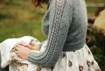 Sweater and cardigan knitting