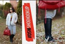 DSW Shoe Hookup  / DSW has hooked up with tons of amazing bloggers who will wear, love, and chat about our shoes!