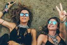 Festival Fashion Faves / Heading to a festival this summer? Grab one or a ton of our perfect picks (from neutral sandals to boho bags!) that'll work with any of your looks.