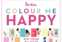 Boden Colour Me Happy Campaign / by Beckie Clark