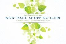 2014 Non-Toxic Holiday Shopping Guide / The Guide includes tips and resources for finding safer products, and top non-toxic gift picks from eco-friendly, conscientious women of the WVE community who are experts in their fields. / by Women's Voices for the Earth