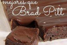 Brownies Filosofía de Sabor / Variedad de recetas de Brownies que no vas a saber cual elegir. Chocolate solo o con agregados como dulce de leche, uno con café, sin manteca y otros cuadrados que bien pueden acompañar un brownie