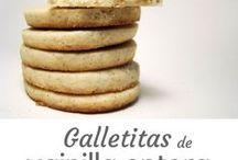 Galletitas Filosofía de Sabor / Galletitas, o cookies, y otros pequeños dulces de muchos sabores. También hay galletitas saladas