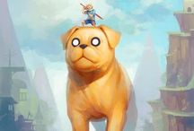 Adventure Time! / With Jake the Dog and Finn the Human the fun will never end! It's Adventure Time!! / by Ciara Frazer