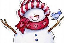 Snowmen / by Dorothy Rues